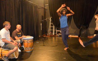 17 mai 2014 – Atelier danse gwoka avec Max Diakok